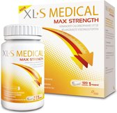 XL-S Medical Max Strength Afslanksupplement - 120 tabletten - Eetlustremmer