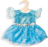 Heless Poppenkleding Jurk Ijsprinses Blauw 28-35 Cm