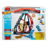 Hot Wheels Track Builder Driedubbele loopingset - Racebaan