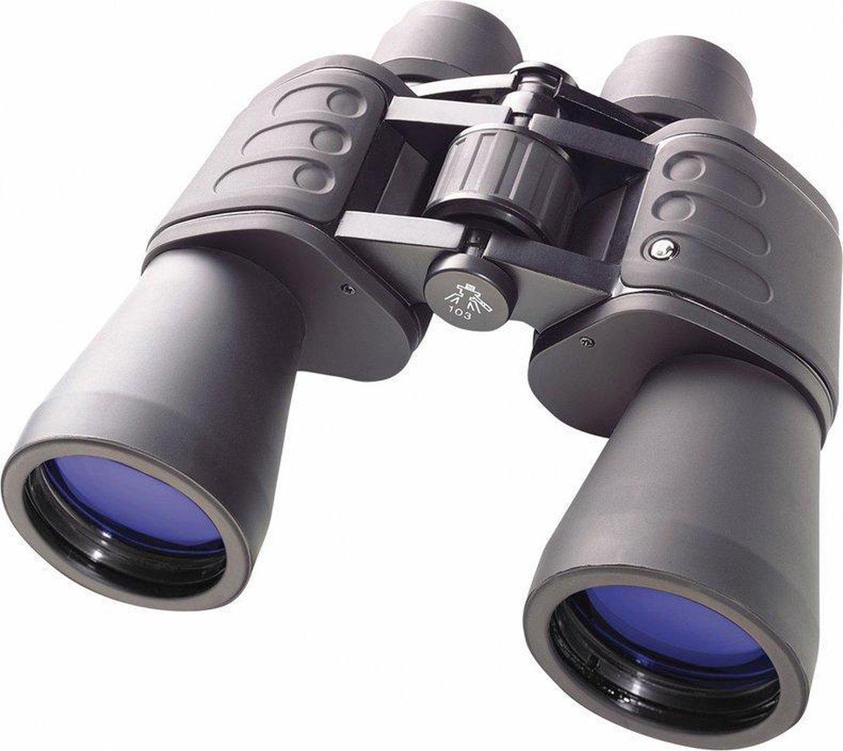 Bresser Hunter 16x50 - Verrekijker - Zwart/Blauw