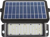 Specilights - Solar LED Bouwlamp - Breedstraler -  met bewegingssensor (PIR) - IP65, volledig waterdicht - zonne-energie - 10W