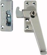 AXA 3319 Veiligheids raamsluiting - 3319-31-92/GE - draairichting 3 - Aluminium F2