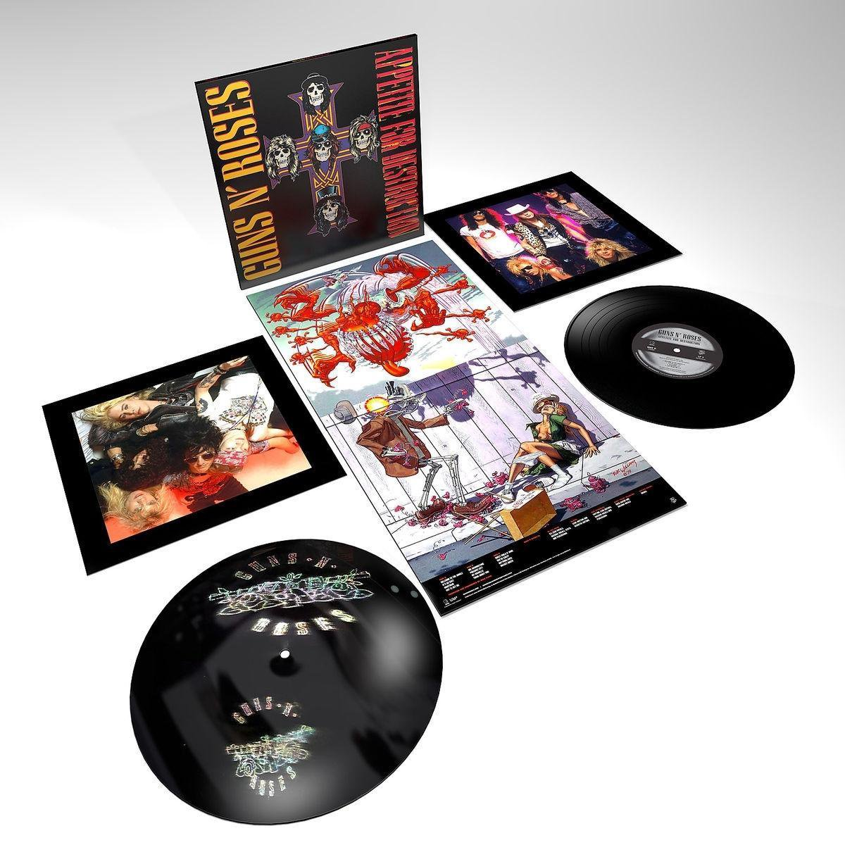 Appetite For Destruction (LP) - Guns N' Roses