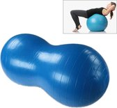 Peanut Yoga Ball Thickening Explosion-proof Sport Exercise Ball Massage Ball(Blue)