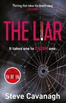 Boek cover The Liar van Steve Cavanagh (Onbekend)