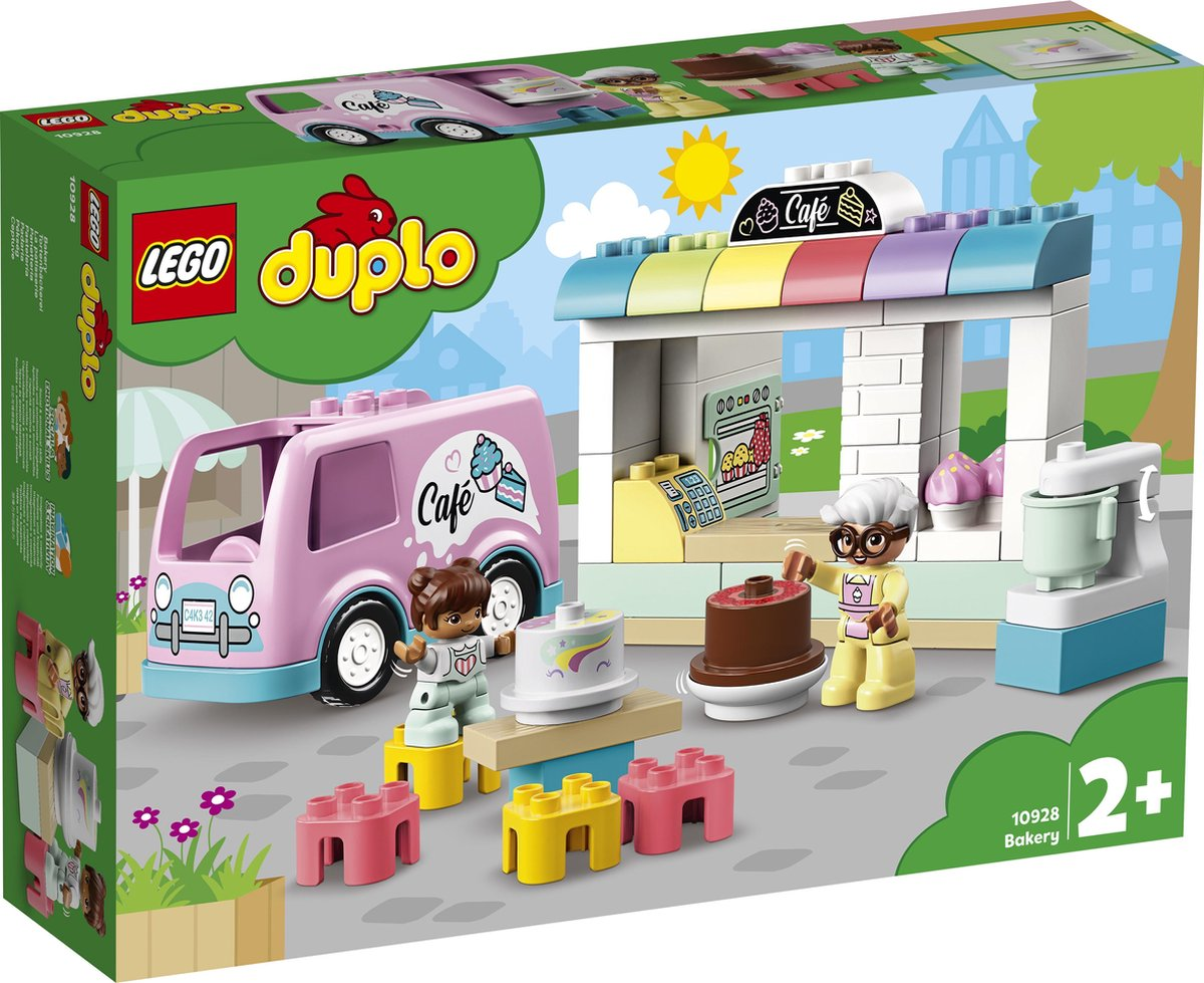 10928 Lego Duplo Bakkerij