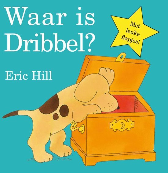 Boek cover Dribbel  -   Waar is Dribbel? van Eric Hill (Hardcover)