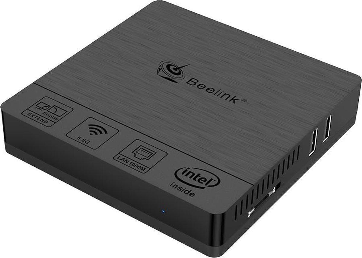 Beelink BT 3 Pro II 4/64 GB Windows 10 mini pc /Nieuw koelingssysteem / Zuinig / 64 GB opslag / Met