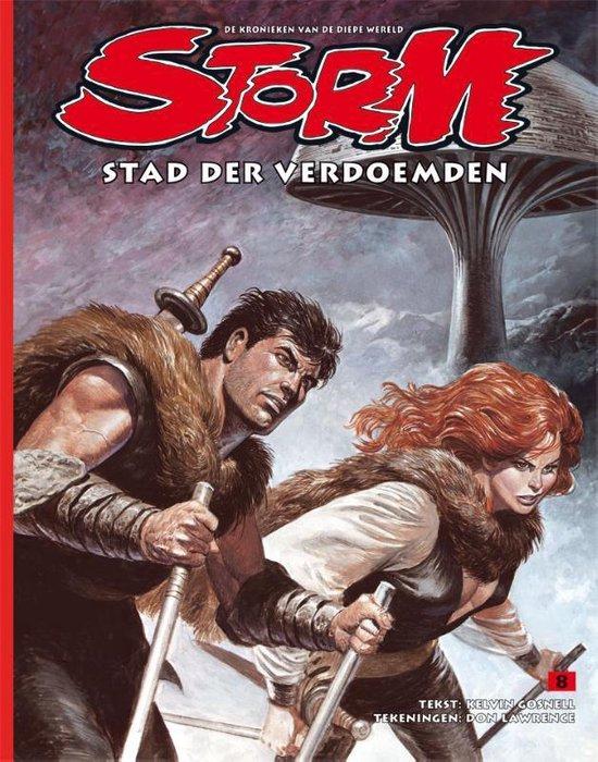 Cover van het boek 'Storm  / Stad der verdoemden'