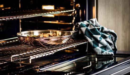 Koekenpan Ø26cm met deksel - inductie - koper - DUCQ