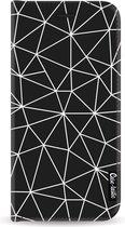 Samsung Galaxy J6 (2018) hoesje So Many Lines! White Casetastic Smartphone Hoesje Wallet Cases case