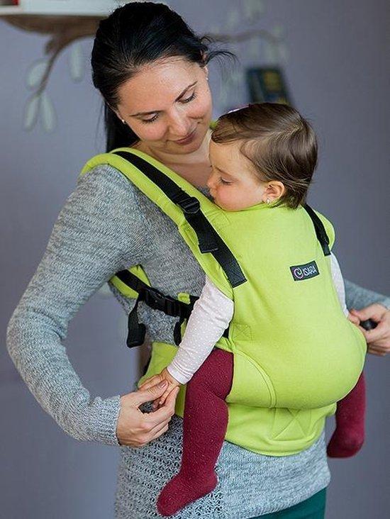 Isara  Draagzak Full Wrap Conversion Lime Green Baby