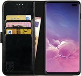 Rosso Element Samsung Galaxy S10 Plus Hoesje Book Cover Zwart