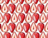 Vinyl  Placemat | Aardbeien | 4 stuks