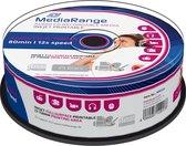 MediaRange CD-R 700MB 25pcs Audio vollflächig bedruckbar