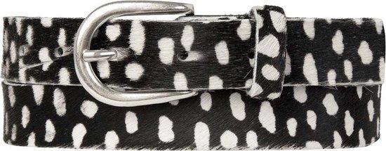Cowboysbelt Belt 259136 – Size 90 – Zwart wit