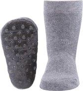 Ewers anti-slip sokken Stoppi uni grijs melee Maat: 27-28