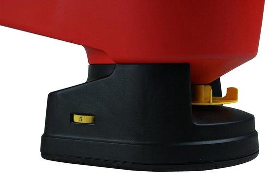 WOLF-Garten universele handstrooier WE-B - strooibreedte instelbaar 0.5 m-2.5m - batterij aandrijving - inhoud 3 liter