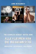 Alle Kleuren van de Regenboog boxset: NEW#leven | OUT#vlucht | REAL#liefde