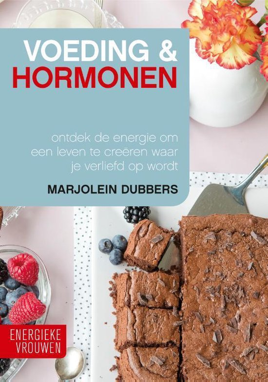 Boek cover Voeding & Hormonen van Marjolein Dubbers (Hardcover)