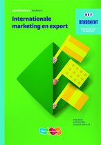 Rendement - Internationale marketing en export Niveau 4 Leerwerkboek
