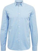 !solid overhemd Lichtblauw-l