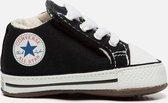 Converse Chuck taylor All Star Cribster babyschoenen zwart - Maat 18