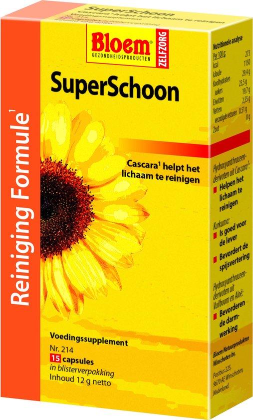 Bloem SuperSchoon - 15 capsules
