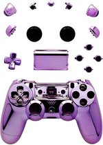 PS4 Controller Shell PRO V1 Paars Chrome