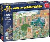 Jan van Haasteren De Kunstmarkt Puzzel 2000 stukje