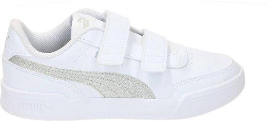 Puma Caracal Glitter Sneaker Meisjes Wit