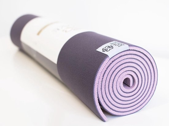 Love Generation Premium Yoga Mat ● 6mm dik ● Mesmerizing Purple