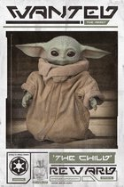 Mandalorian Baby Yoda - Poster 61 x 91 cm