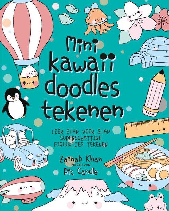 Boek cover Mini kawaii doodles tekenen van Zainab Khan (Paperback)