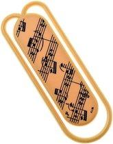 Reuze paperclip muziekmotief