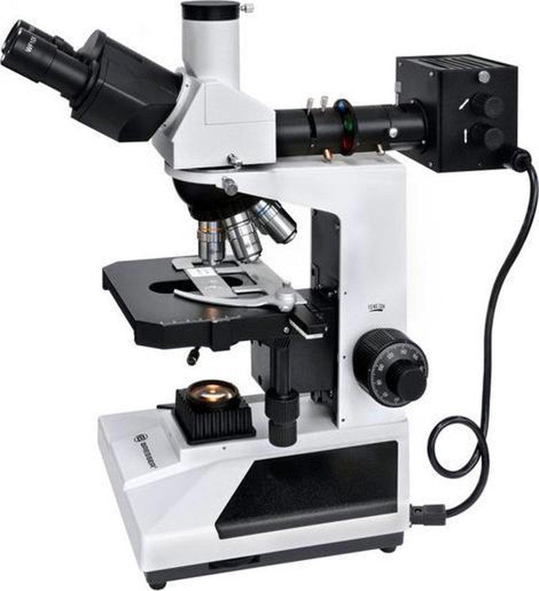Bresser Science ADL-601P 40-600x doorlicht/opzicht-microscoop