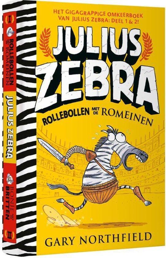 Julius Zebra - Rollebollen met de Romeinen & Bonje met de Britten - Gary Northfield |