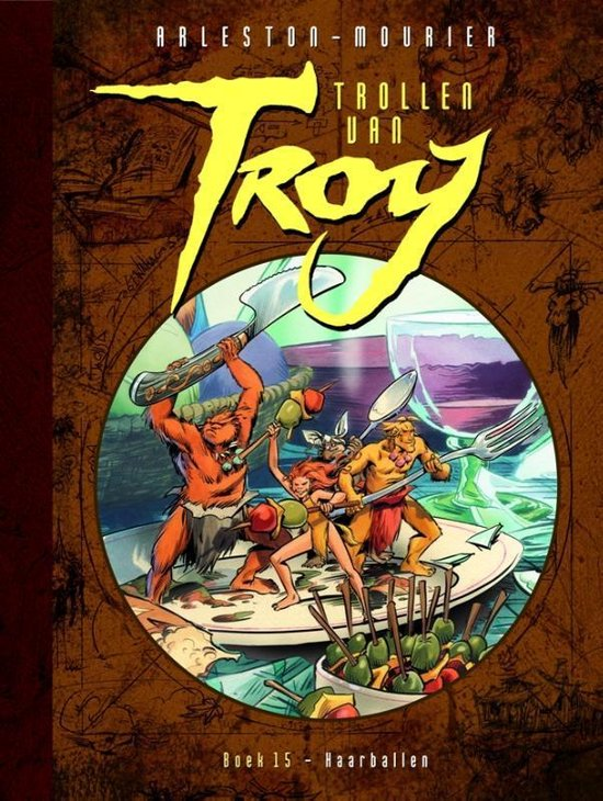Trollen van Troy 15 - Haarballen - Jean-Louis Mourier | Fthsonline.com