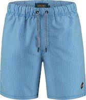 Shiwi Men swimshort skinny stripe - blauw - s