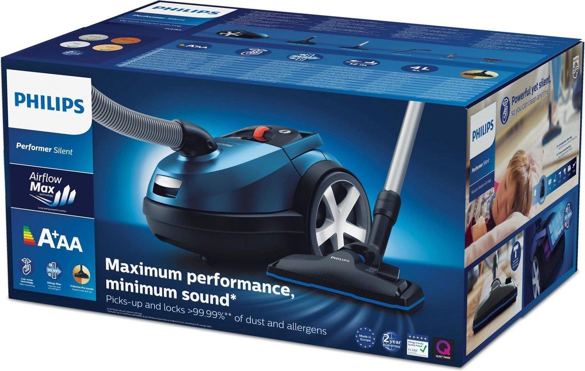Philips FC878009 Performer Silent Stofzuiger Blauw te koop