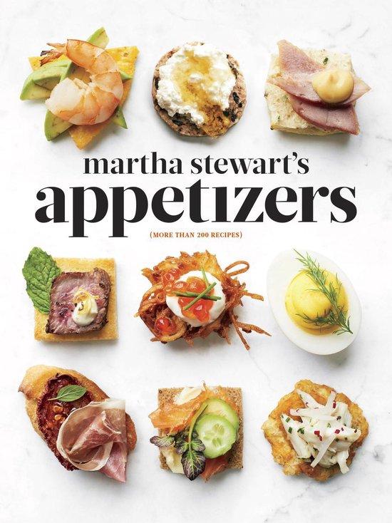 Boek cover Martha Stewarts Appetizers van Martha Stewart (Onbekend)