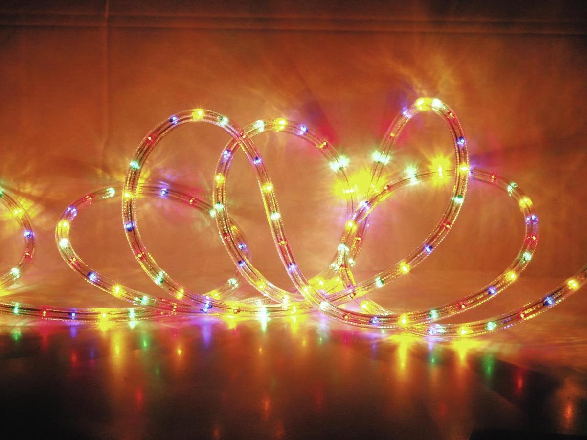 EUROLITE Lichtsnoer voor buiten - meerkleuren - Gekleurd - lichtslang - 44m - Licht Slang