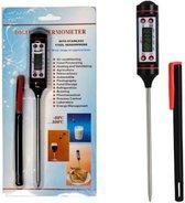 Digitale Keukenthermometer - inclusief Batterij en Opbergbox
