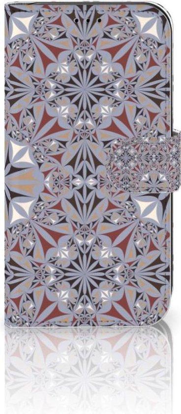 Bookcase iPhone 11 Bloemen