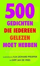 500 Gedichten Die Iedereen Gelezen Moet Hebben