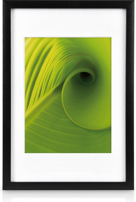 Bomoe Nature Set 24 Houten Fotolijsten - Plexiglas - Metalen Ophanging - Zwart