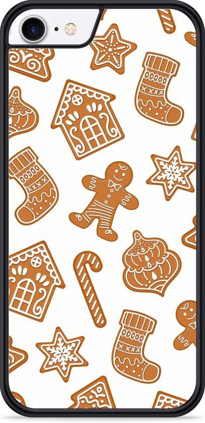 iPhone 8 Hardcase hoesje Christmas Cookies