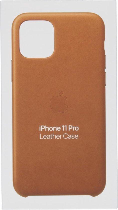 Apple Leren Hoesje voor iPhone 11 Pro - Saddle Brown
