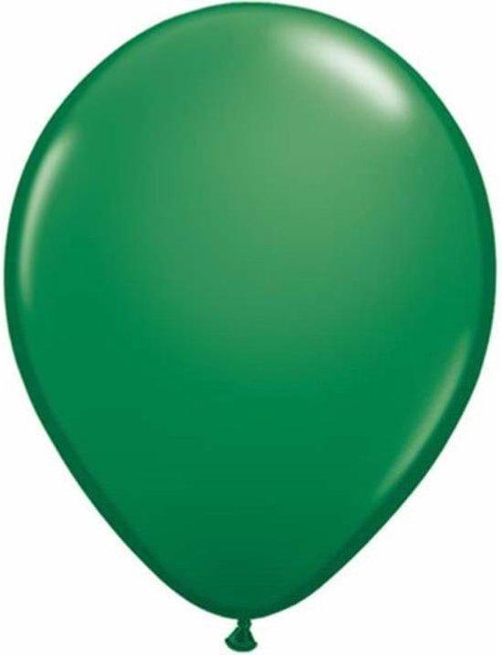Qualatex ballonnen 100 stuks Green