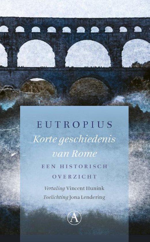 Korte geschiedenis van Rome - Eutropius |